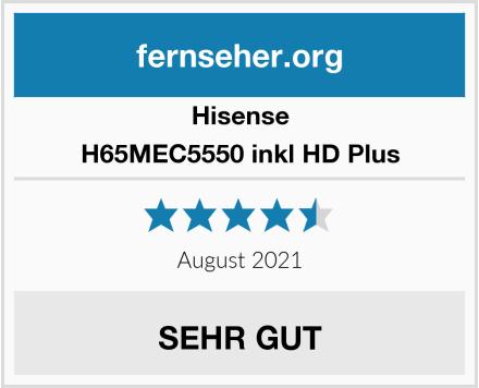 Hisense H65MEC5550 inkl HD Plus Test