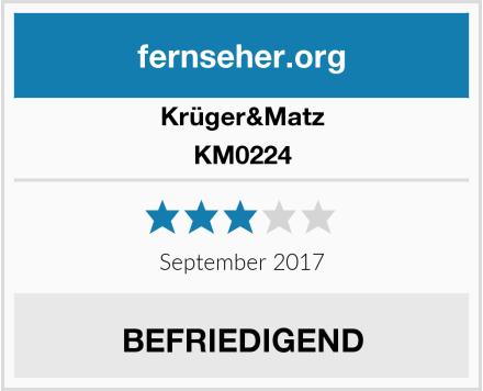 Krüger&Matz KM0224 Test