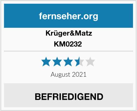Krüger&Matz KM0232  Test