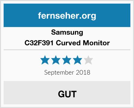 Samsung C32F391 Curved Monitor Test