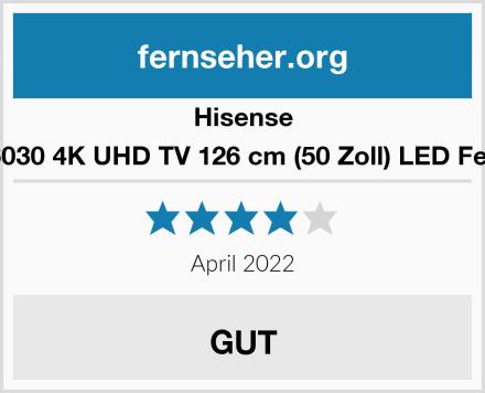 Hisense H50AE6030 4K UHD TV 126 cm (50 Zoll) LED Fernseher Test