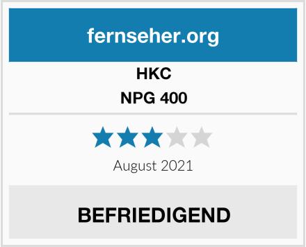 HKC NPG 400 Test