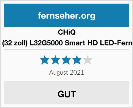 CHIQ 81cm (32 zoll) L32G5000 Smart HD LED-Fernseher Test