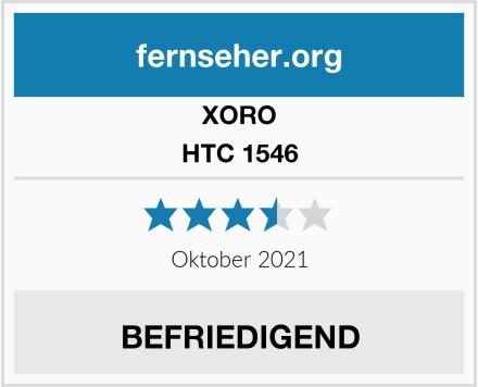 Xoro HTC 1546 Test