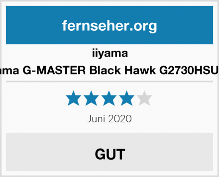 iiyama iiyama G-MASTER Black Hawk G2730HSU-B1 Test