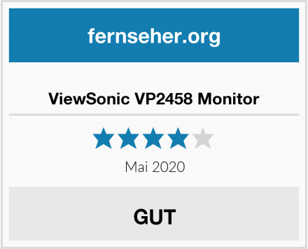 ViewSonic VP2458 Monitor Test