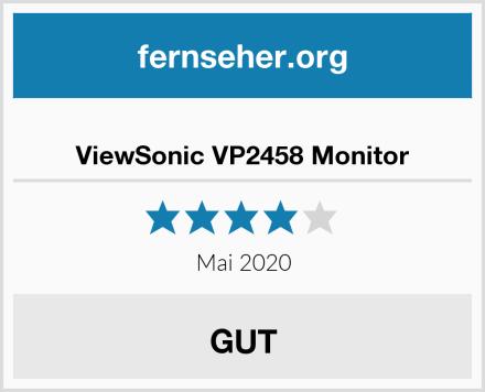 ViewSonic VP2458 Monitor Test