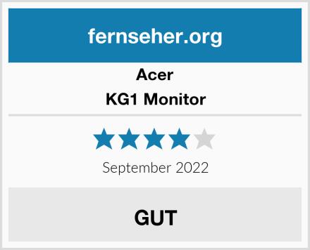Acer KG1 Monitor Test