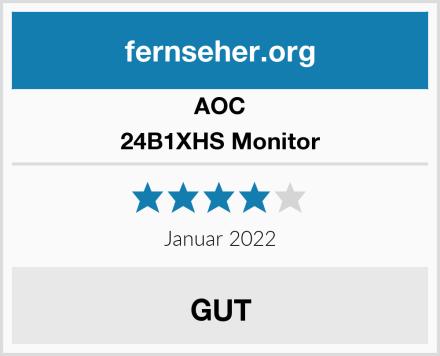 AOC 24B1XHS Monitor Test