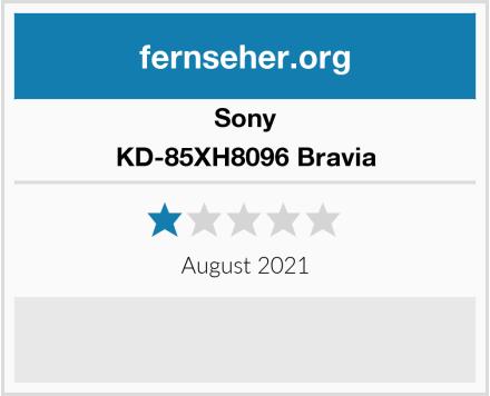 Sony KD-85XH8096 Bravia Test