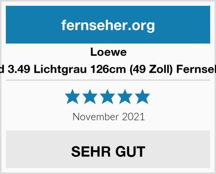 Loewe bild 3.49 Lichtgrau 126cm (49 Zoll) Fernseher Test