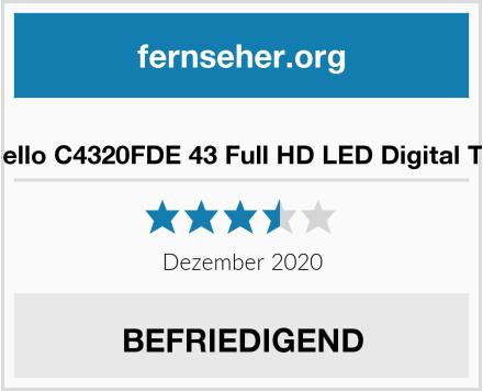 Cello C4320FDE 43 Full HD LED Digital TV Test