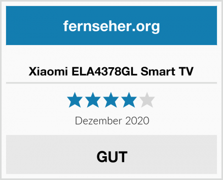 Xiaomi ELA4378GL Smart TV Test