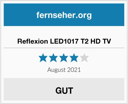 Reflexion LED1017 T2 HD TV Test