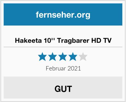 Hakeeta 10'' Tragbarer HD TV Test