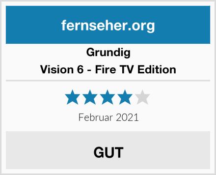 Grundig Vision 6 - Fire TV Edition Test