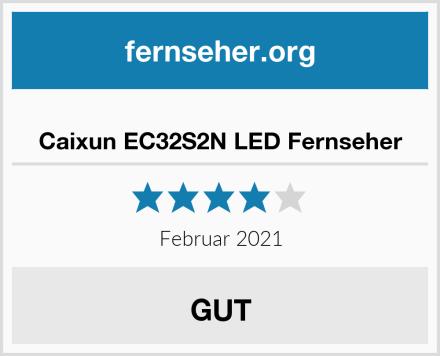 Caixun EC32S2N LED Fernseher Test