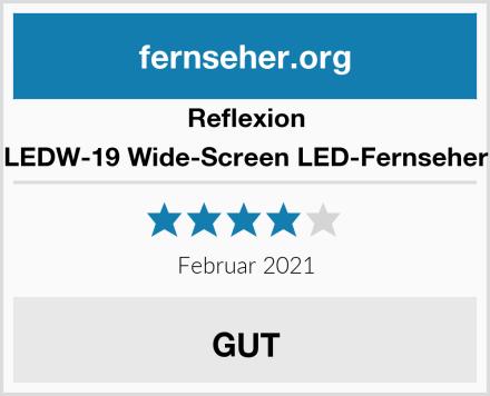 Reflexion LEDW-19 Wide-Screen LED-Fernseher Test