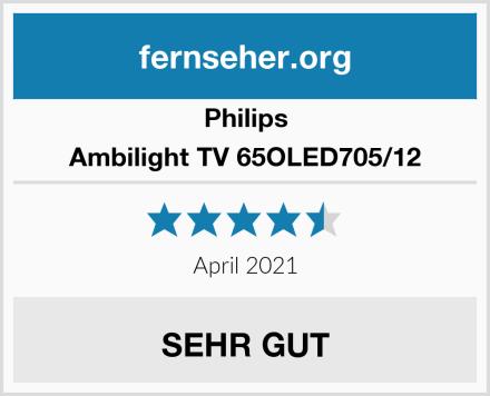 Philips Ambilight TV 65OLED705/12 Test