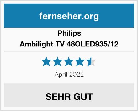 Philips Ambilight TV 48OLED935/12 Test