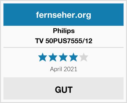 Philips TV 50PUS7555/12 Test