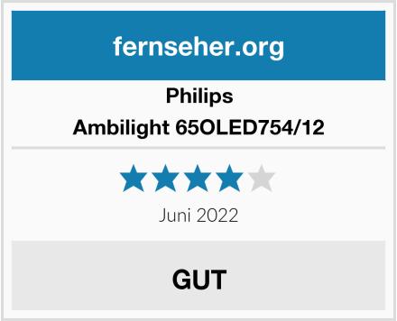 Philips Ambilight 65OLED754/12 Test