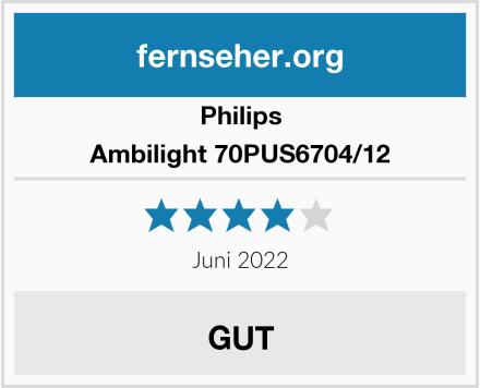 Philips Ambilight 70PUS6704/12 Test