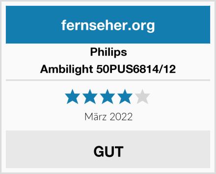Philips Ambilight 50PUS6814/12 Test