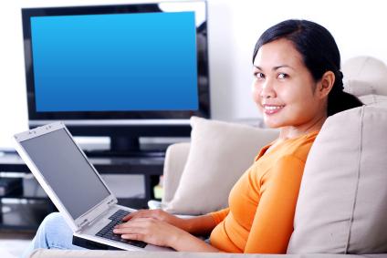 Laptop & Fernseher